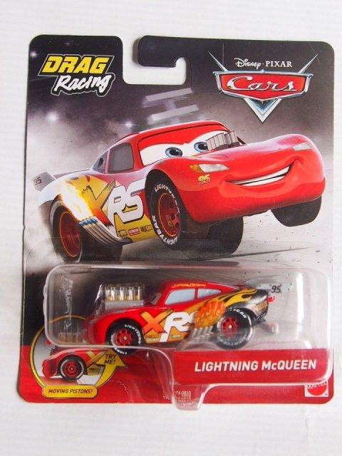 訳有特価】XRS ドラッグレーサー シリーズ LIGHTNING McQUEEN 2019