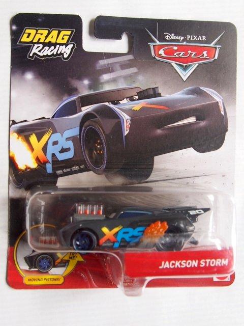 訳有特価】XRS ドラッグレーサー シリーズ JACKSON STORM 2019