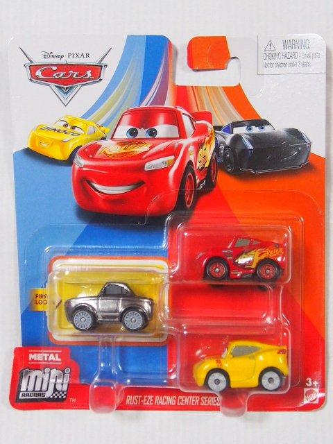 MINI RACERS 3-PACK 2020 メタリック スターリング/マックイーン/クルース