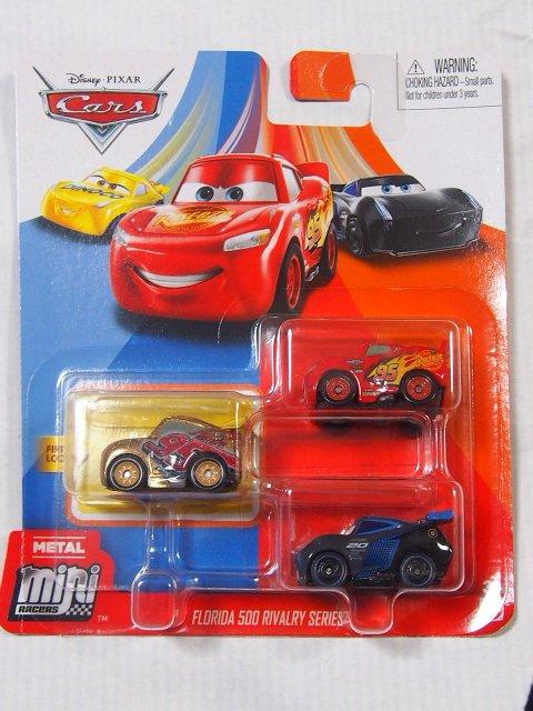 MINI RACERS 3-PACK 2020 ゴールドラスティーズクルース/ライトニングマックイーン/ジャクソンストーム