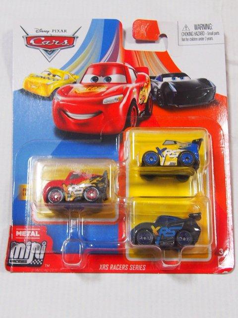 MINI RACERS 3-PACK 2020 XRSクルース/XRSライトニングマックイーン/XRSジャクソンストーム