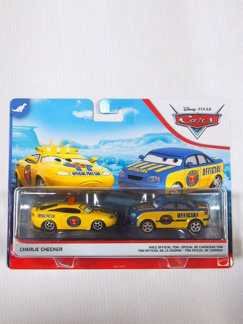 CHARLIE CHECKER and RACE OFFICIAL TOM 2-PACK 2020(赤テールレンズ)