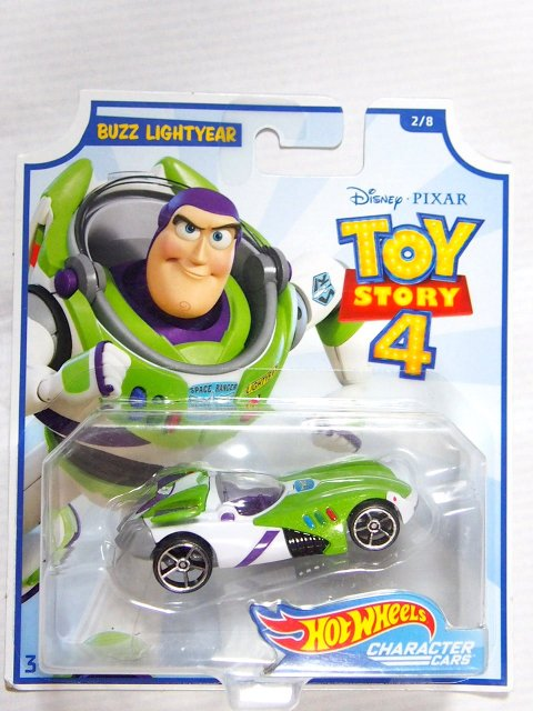 Toy Story 4 x Hot Wheels! BUZZ LIGHTYEAR コラボダイキャストカー 2019