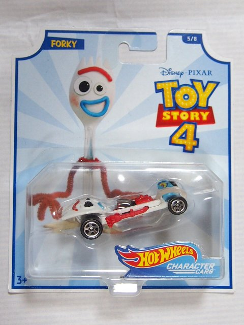 Toy Story 4 x Hot Wheels! FORKY コラボダイキャストカー 2019
