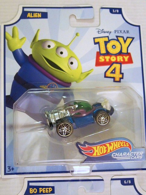 Toy Story 4 x Hot Wheels! ALIEN  コラボダイキャストカー 2019