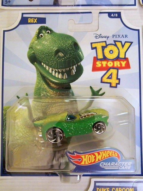 Toy Story 4 x Hot Wheels! REX  コラボダイキャストカー 2019