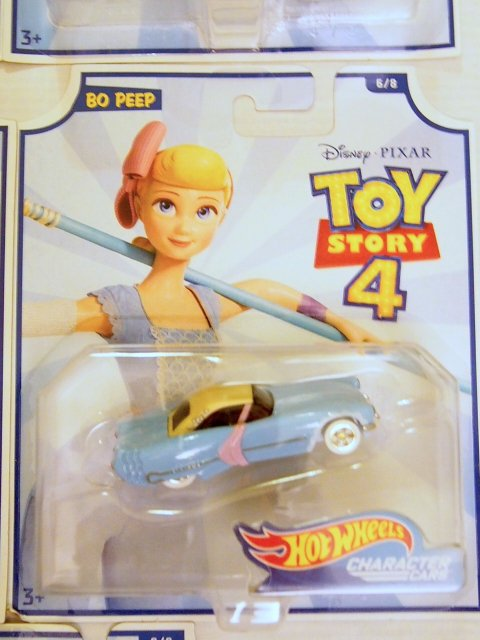 Toy Story 4 x Hot Wheels! BO PEEP コラボダイキャストカー 2019