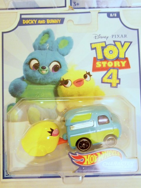 Toy Story 4 x Hot Wheels! DUCKY and BUNNY コラボダイキャストカー 2019