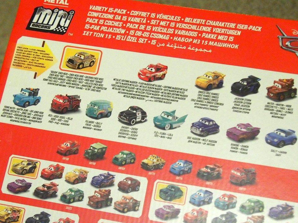 ご予約販売品】MINI RACERS VARIETY 15-PACK 2020(GOLD CHICK/RED/BNM)