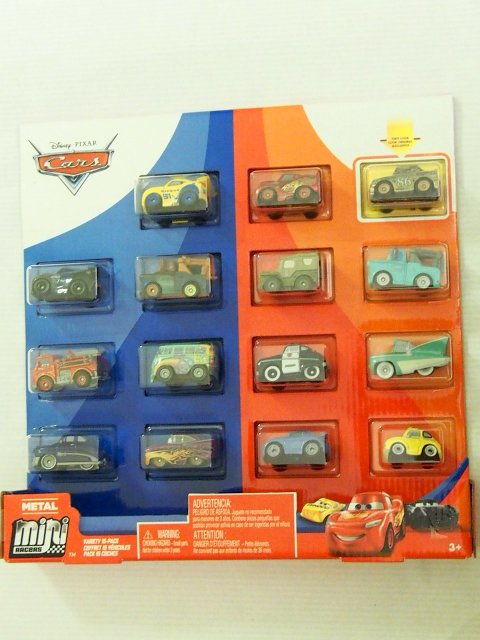 MINI RACERS VARIETY 15-PACK 2020(GOLD CHICK/RED/BNM)