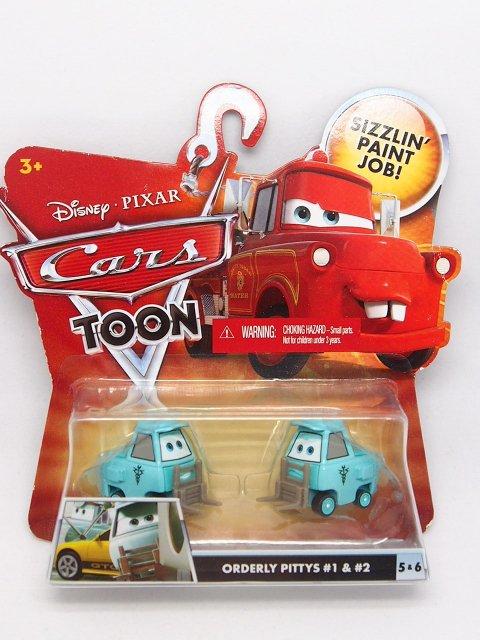 訳有特価】ORDERLY PITTY 2011 CARS TOON