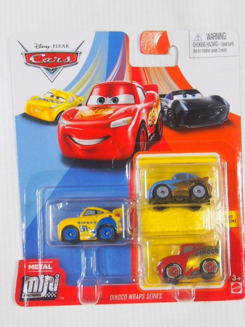 エラー特価】Mini Racers 2020 ダイナコ WRAPS SERIES 3-pack