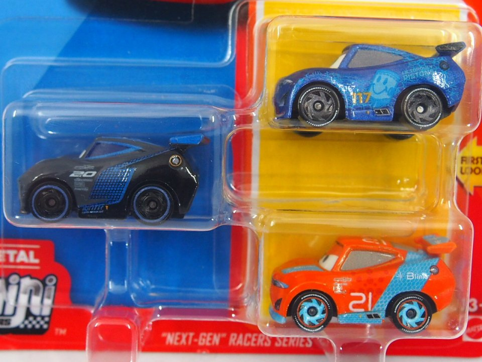 ご予約販売品】Mini Racers 2020 ネクスト ジェネレーション RACERS SERIES 3-pack