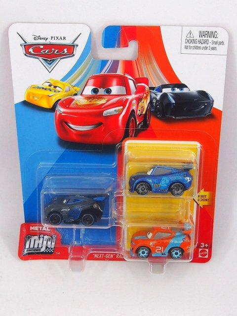 Mini Racers 2020 ネクスト ジェネレーション RACERS SERIES 3-pack