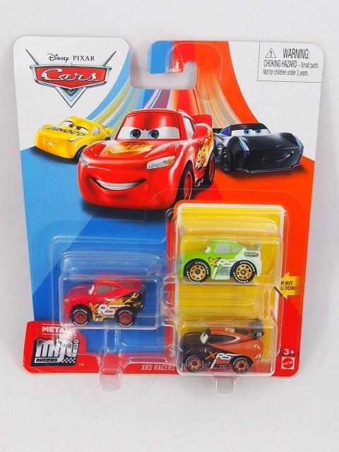 MINI RACERS 3-PACK 2020 XRS ティム /XRSブリック/XRSライトニングマックイーン