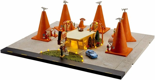 少し訳有り特価】PRECISION SERIES COZY CONE MOTEL PLAYSET