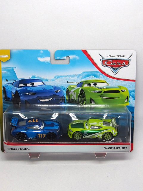 SPIKEY FILLUPS  No.117 and CHASE RACELOTT  No.24 2-pack 2020