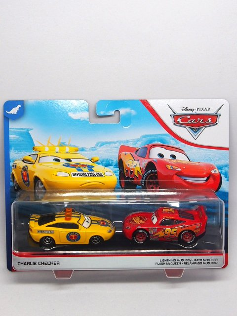 CHARLIE CHECKER and LIGHTNING MCQUEEN (CARS1) 2-pack 2020