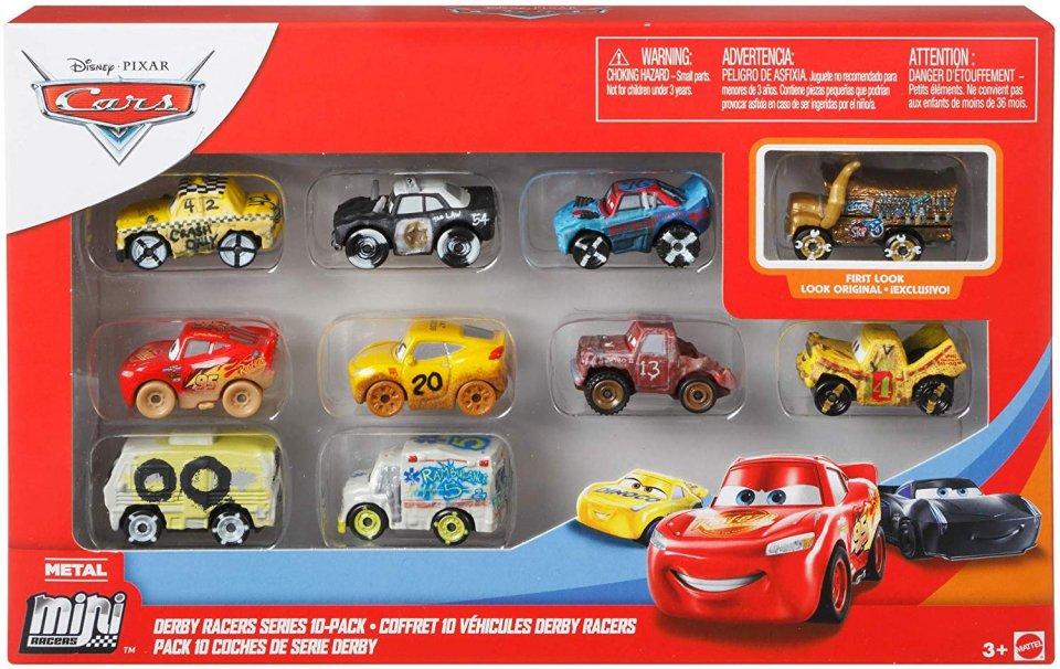 訳有特価】MINI RACERS デモダービーレーサーシリーズ 10-PACK 2020 (ゴールデンミスフリッター)