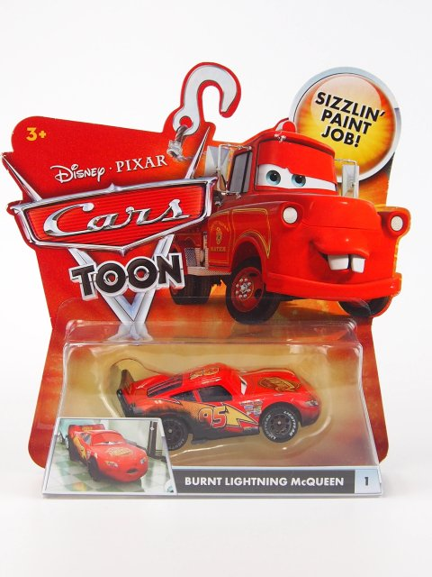 BURNT LIGHTNING MCQUEEN 2011年 TOON
