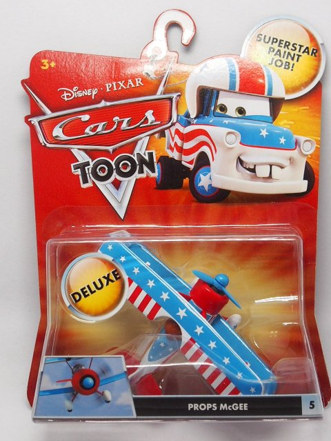 CARS TOON PROPS McGEE 2011 TOON DELUXE版