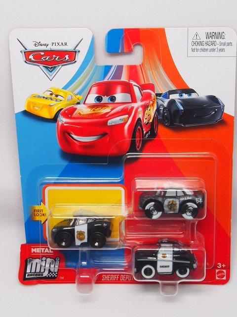 Mini Racers 2020 シェリフ デピュティース SERIES 3-pack (オフィッサーLMQ/APB/シェリフ