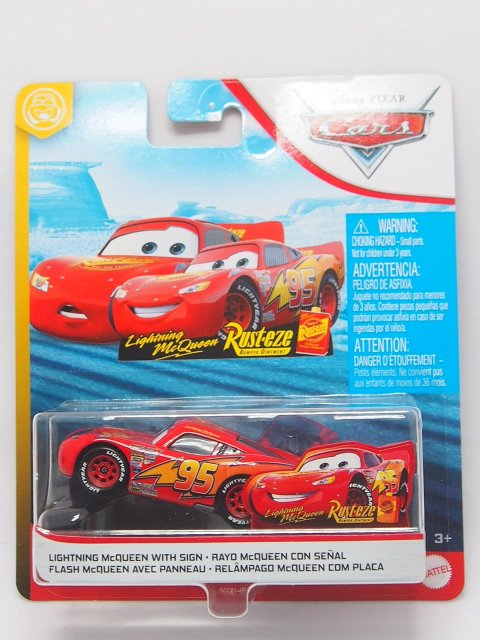LIGHTNING McQUEEN WITH SIGN 2020