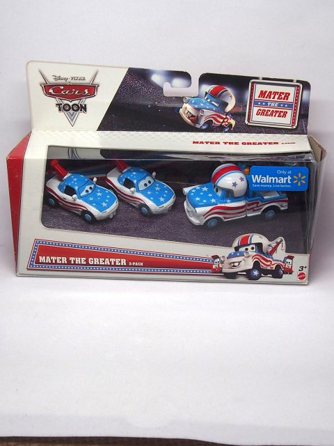 訳有特価】MATER THE GREATER 3-PACK 2012