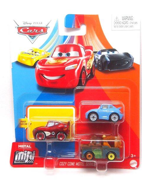 Mini Racers 2020 コージーコーンモーテル SERIES 3-pack (ラジエタースプリングスLMQ/サリー/メーター