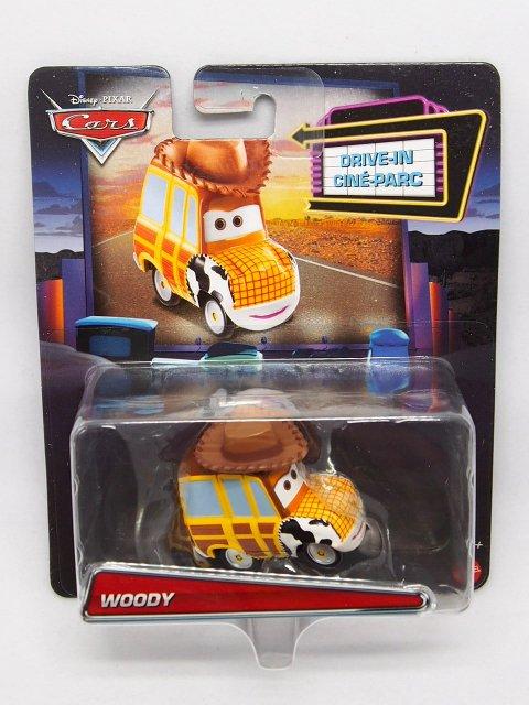 WOODY ウッディ PIXAR x カーズ MASHUPS DRIVE-INN シリーズ  2020