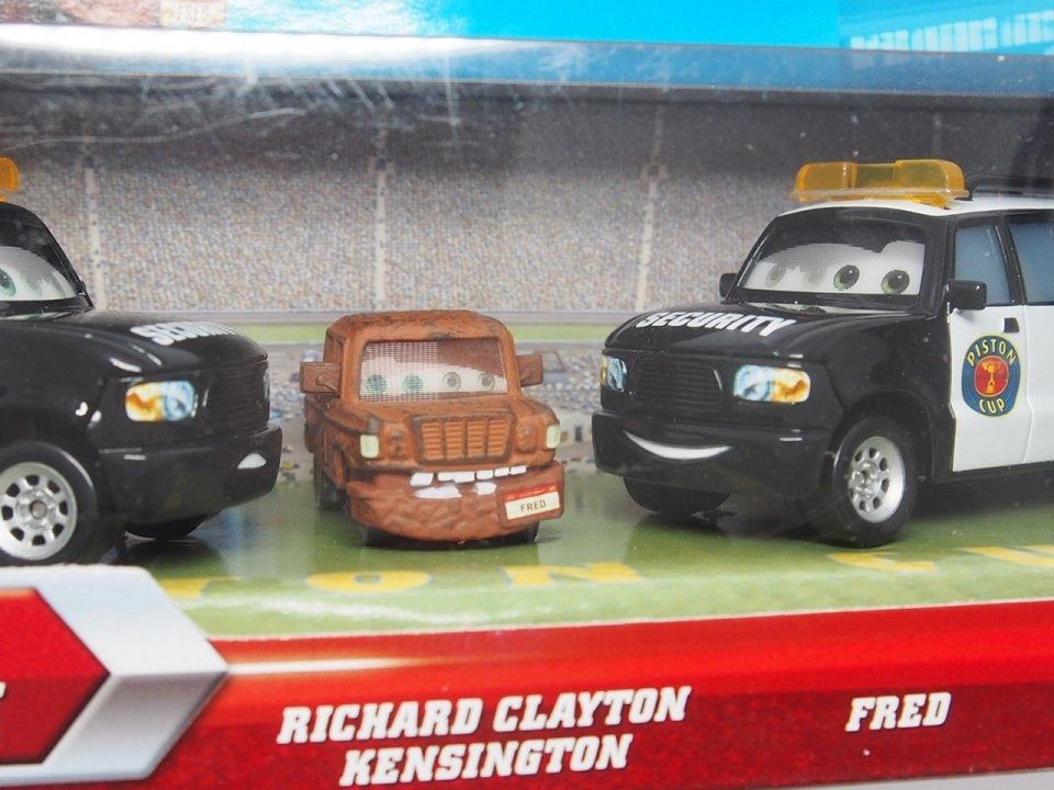 RICHARD CLAYTON / FRED / MARCO AXELBENDER 3-CAR GIFT PACK 2011