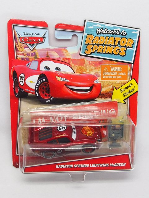 RADIATOR SPRINGS LIGHTNING McQUEEN With Accessories RSC 2020
