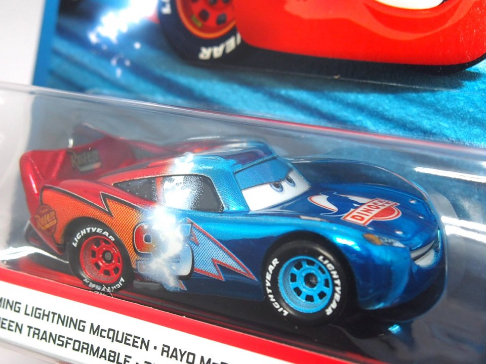 訳有特価】TRANSFORMING LIGHTNING McQUEEN 世界限定4000個 2020