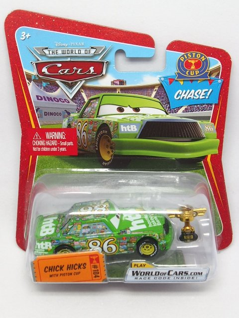 CHICK HICKS With PISTON CUP TROPHY CHASE 2009 ROR 版