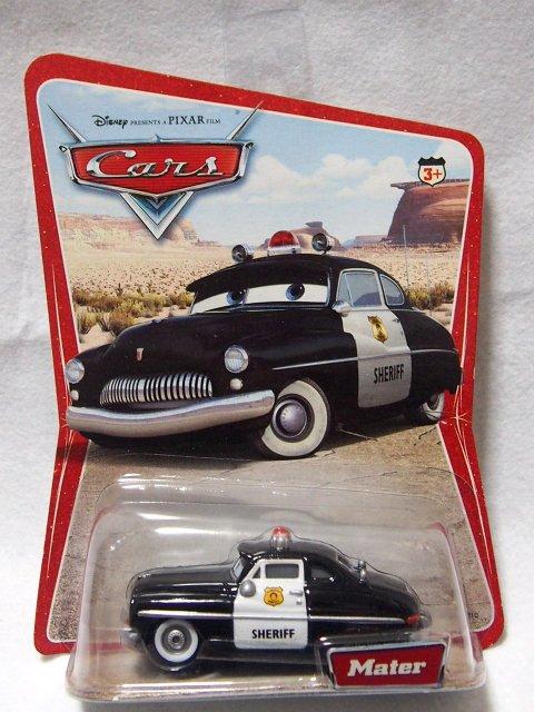 ファクトリーエラー】SHERIFF 2006 DESERT 初代砂漠カード ネームタグ Mater & FILMORE(1L)エラー版