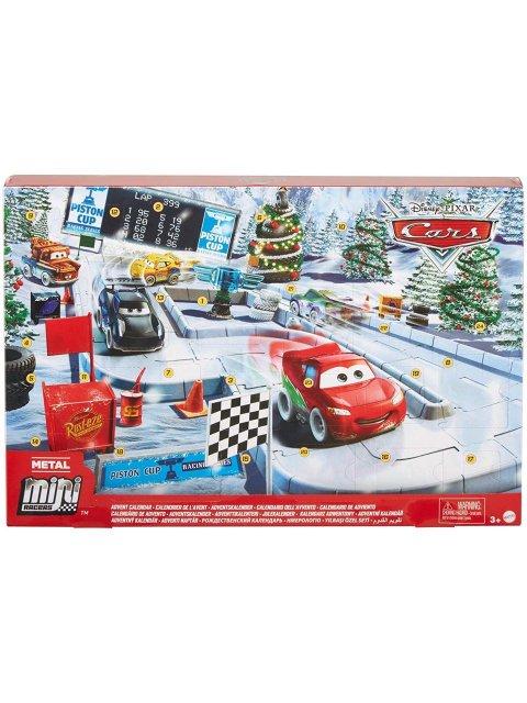 中身のみ LOOSE品】MINI RACERS 2020 クリスマス アドベント カレンダー  アイスレーサー風ミニミニカーズ5台付き