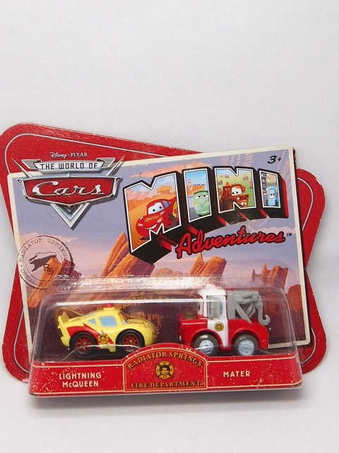 【ミニアドベンチャーズ】RS FIRE DEPARTMENT |LIGHTNING McQUEEN and MATER