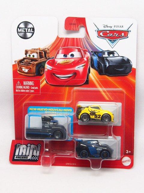 MINI RACERS 3-PACK 2021 ネクストジェネレーション SERIES (ゲイル ビューフォート/ジョージニューウィン/ジャクソン