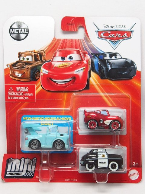 MINI RACERS 3-PACK 2021 東京メーター SERIES (東京メーター/シェリフ/RS LMQ