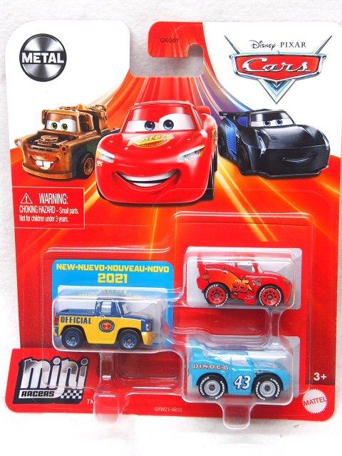 MINI RACERS 3-PACK 2021 LA INT'L スピードウェイ SERIES (デクスター フーバー/キング/LMQ