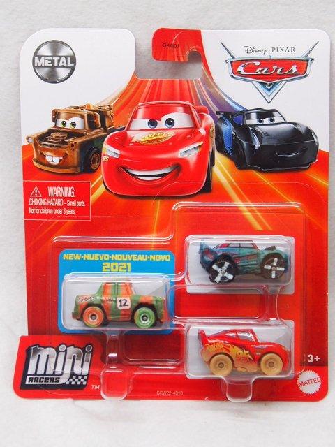 MINI RACERS 3-PACK 2021 サンダー ホロー SERIES (ハイ インパクト/フィッシュテール/マディーLMQ