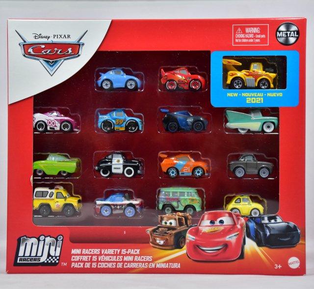 ご予約販売品】MINI RACERS VARIETY 15-PACK 2021 [TARGET限定] (FUNNY CAR MATER / PIZZA PLANET TRUCK TODD)
