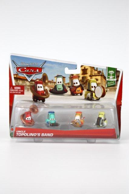 訳有特価】UNCLE TOPOLINO'S BAND 4pack