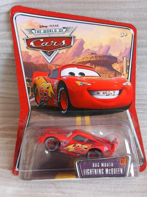 BUG MOUTH LIGHTNING McQUEEN WOC版