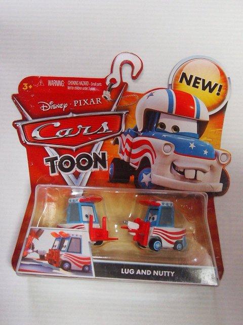 訳有特価】LUG AND NUTTY CARS TOON 2010