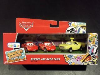 DINOCO400 RaceFANS 3台セットギフトパック RSC版