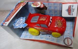 JUMBO BUBBLE SPINOUT Floats LIGHTNING McQueen お風呂で遊べるシリーズ