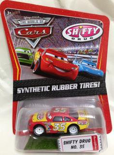 SHIFTY DRUG No.35 RUBBER TIRE (PINK BODY)