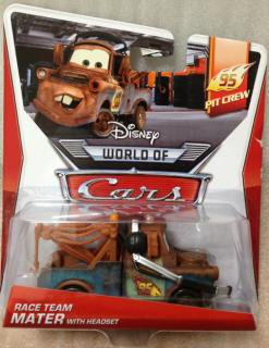 RACE TEAM MATER WITH HEAD SET