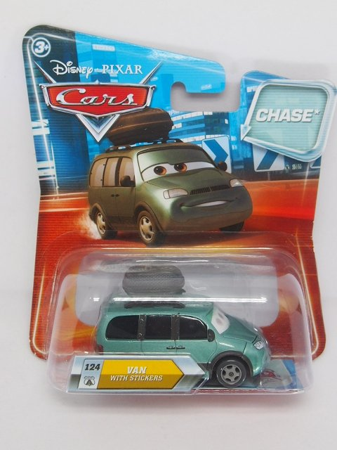 VAN WITH STICKERS CHASE ファクトリーエラー品 LOOK EYES CHANGE版